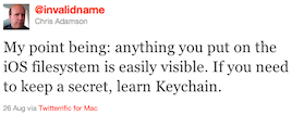 Invalidname Learn Keychain